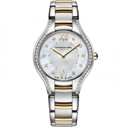 Picture of Raymond Weil Noemia Ladies' Two-Tone Watch with Diamonds
