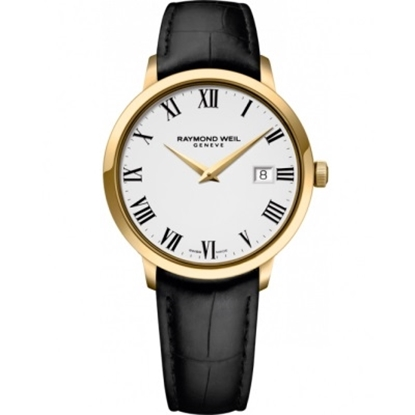 Picture of Raymond Weil Toccata Men's Watch with Black Leather