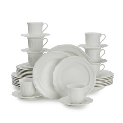 Picture of Mikasa Antique White 40-Piece Dinnerware Set