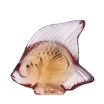 Picture of Lalique Fish - Opaque Pink