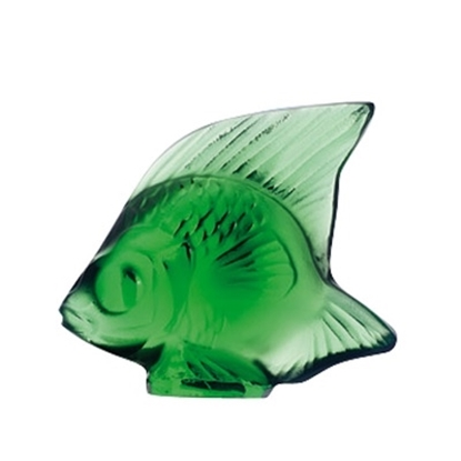 Picture of Lalique Fish - Emerald