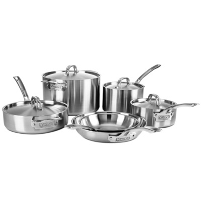 Picture of Viking Professional 5-Ply 10-Piece Cookware Set