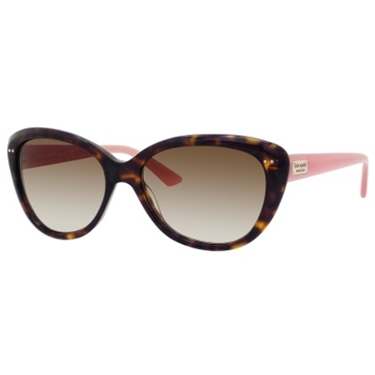 Picture of Kate Spade Angelique Sunglasses - Tortoise/Blush