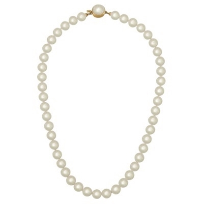 Picture of Majorica 10mm White Round Pearls Necklace