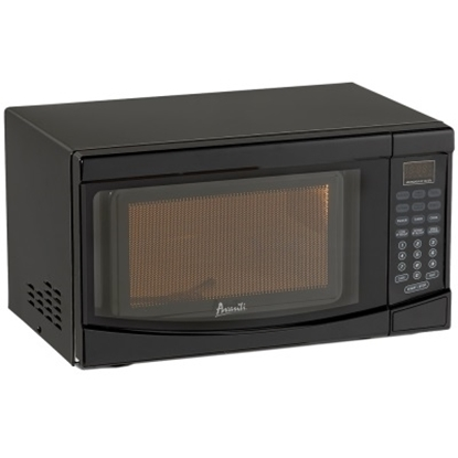 Picture of Avanti® 0.7 CuFt Electronic Microwave Oven - Black