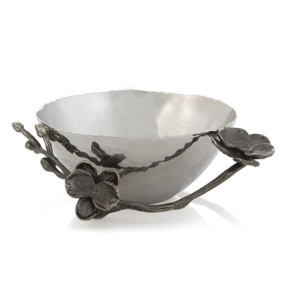 Picture of Michael Aram Black Orchid Nut Bowl