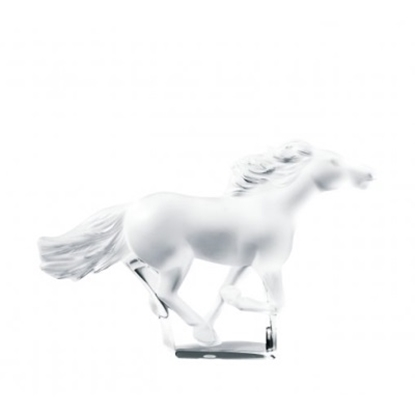 Picture of Lalique Kazak Horse Clear Figurine