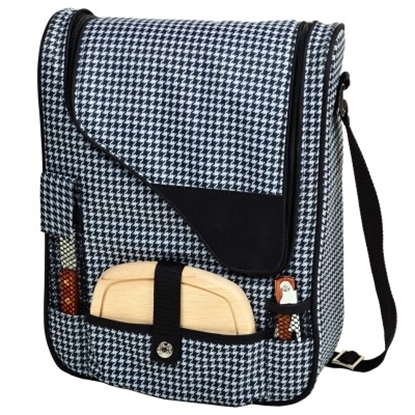 Picture of Picnic at Ascot Wine & Cheese Cooler - Houndstooth