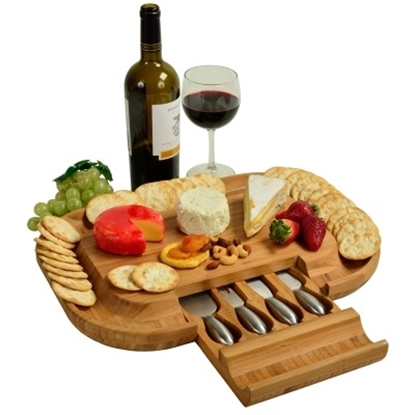 Picture of Picnic at Ascot Deluxe Malvern Cheese Board Set