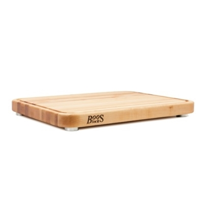 Picture of John Boos Tenmoku Block with Stainless Steel Feet - Maple