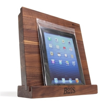 Picture of John Boos iBlock with Stand - Walnut