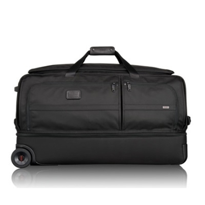 Picture of Tumi Alpha 2 Large Wheeled Split Duffle Bag - Black