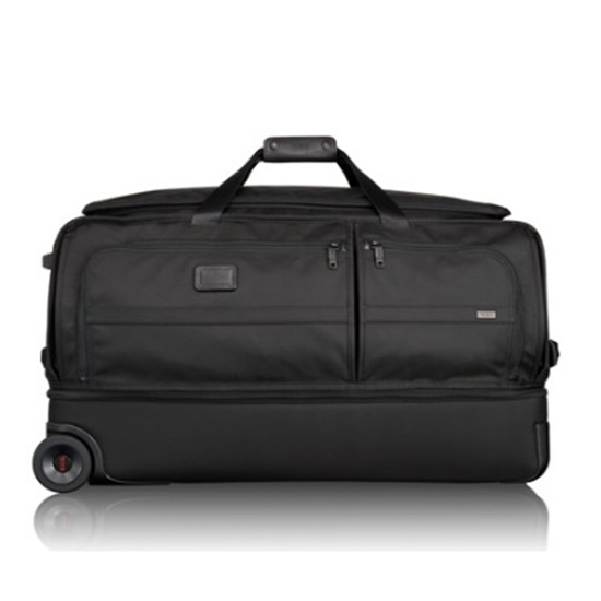 Picture of Tumi Alpha 2 Large Wheeled Split Duffle Bag - Black