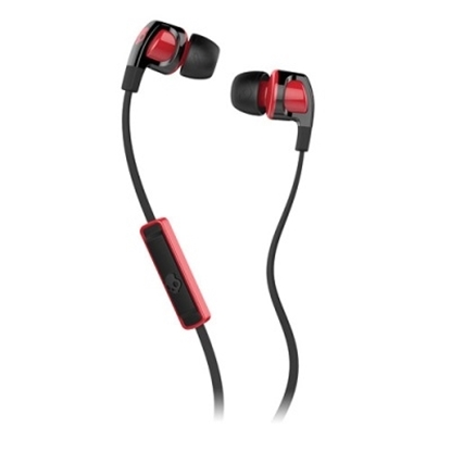 Picture of Skullcandy Smokin' Buds 2 with Mic - Black/Red
