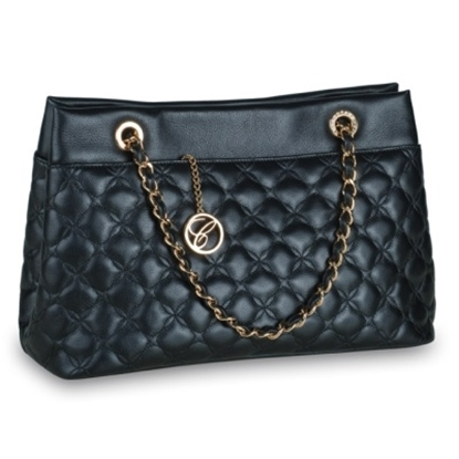 Picture of Chopard All Day Mini Imperiale Handbag - Black