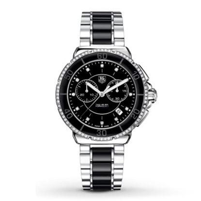 Picture of TAG Heuer Ladies' Formula 1 Chronograph with Black Dial