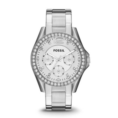 Picture of Fossil Ladies' Riley Multifunction Stainless Steel Watch