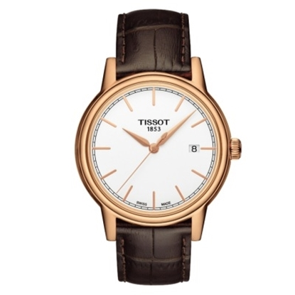 Picture of Tissot Carson Men's Watch with Brown Leather Strap
