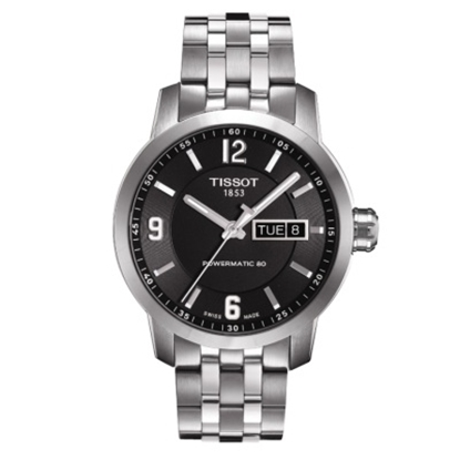 Picture of Tissot Men's Automatic Watch with Black Dial