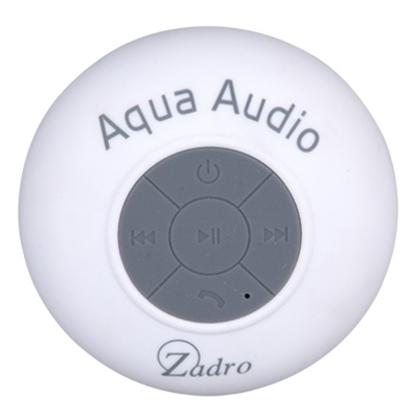 Picture of Zadro™ Aqua Audio Water Resistant Speaker - White