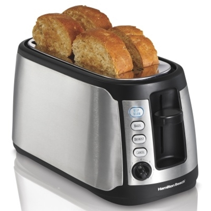 Picture of Hamilton Beach® Keep Warm 4-Slice Long-Slot Toaster