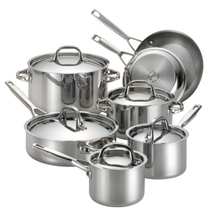 Picture of Anolon® Tri-Ply Clad 12-Piece Cookware Set