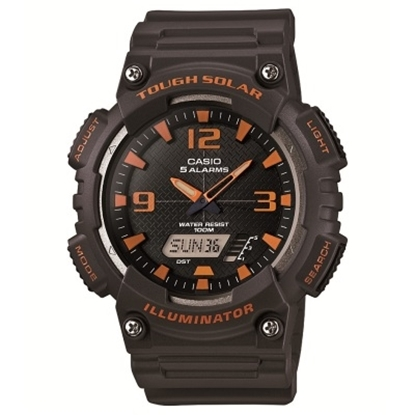 Picture of Casio Sport Tough Solar Analog/Digital Watch - Orange/Black