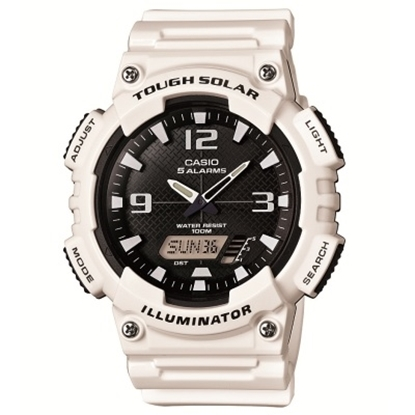Picture of Casio Sport Tough Solar Analog/Digital Watch - White