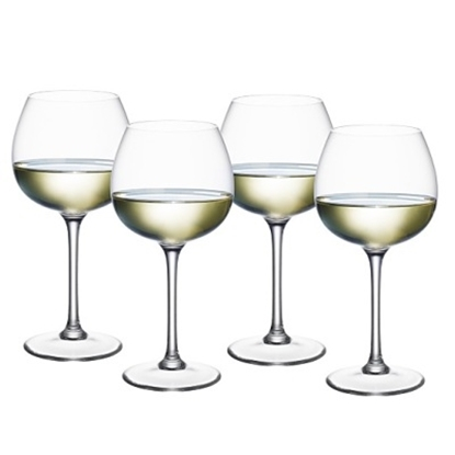 Picture of Villeroy & Boch Purismo White Wine Glasses - Soft/Rounded