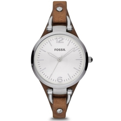 Picture of Fossil Ladies' Georgia Watch with Tan Leather Strap