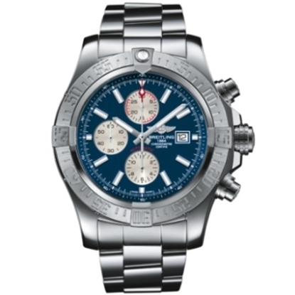 Picture of Breitling Men's Super Avenger II Watch with Blue Dial