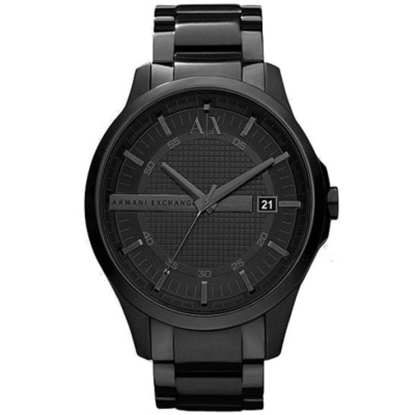 Picture of Armani Exchange Men's Smart Black Stainless Steel Watch