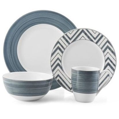 Picture of Mikasa Cadence Slate 16-Piece Dinnerware Set