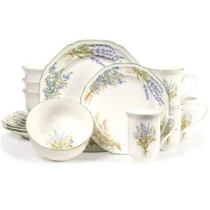 Picture of Mikasa Botanical Bouquet 16-Piece Dinnerware Set