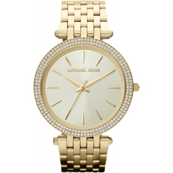 Picture of Michael Kors Ladies' Darci Gold-Tone Glitz Watch