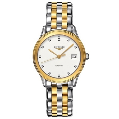 Picture of Longines® Men's Flagship Two-Tone Watch