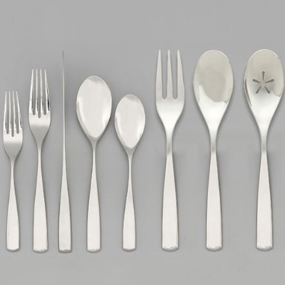 Picture of Nambe Anna 45-Piece Flatware Set