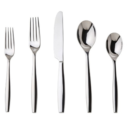 Picture of Nambe Aidan 5-Piece Place Setting Flatware Set