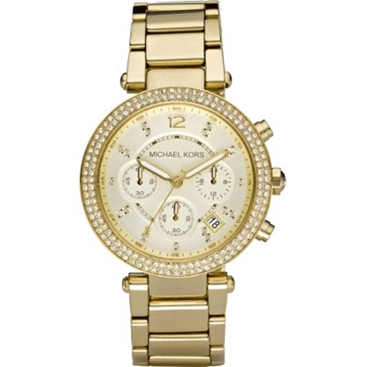 Picture of Michael Kors Parker Glitz Chronograph Watch