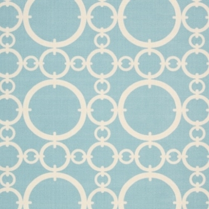 "Picture of Nourison Connected 5.3"" x 7.5"" Rug - Aquamarine"