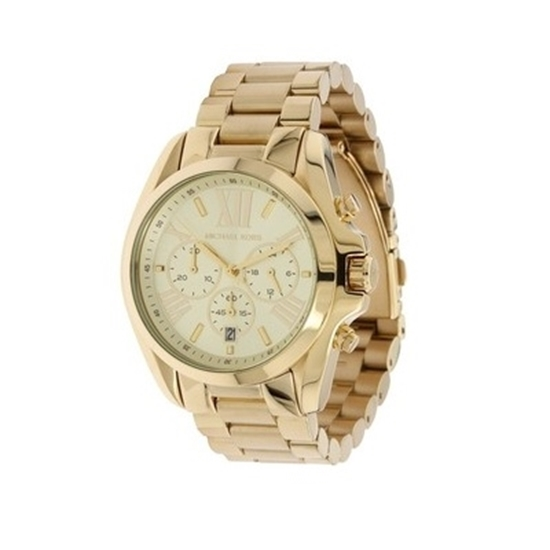 Picture of Michael Kors Bradshaw Gold-Tone Chronograph Watch