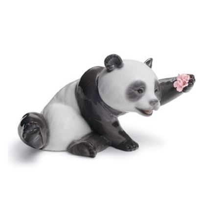 Picture of Lladro® A Jolly Panda Figurine