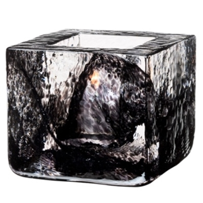 Picture of Kosta Boda Brick Votives - Black