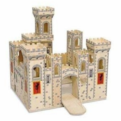 Picture of Melissa and Doug® Folding Medieval Castle