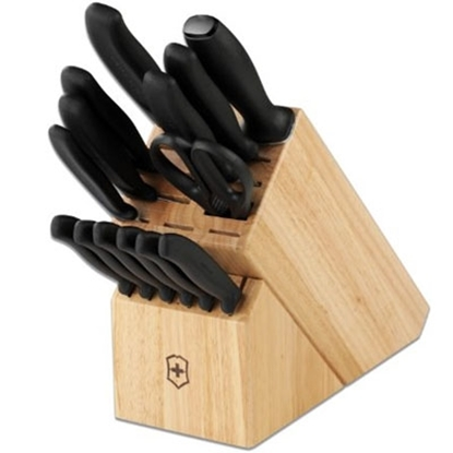 Picture of Victorinox Swiss Army 15-Piece Classic Block Knife Set