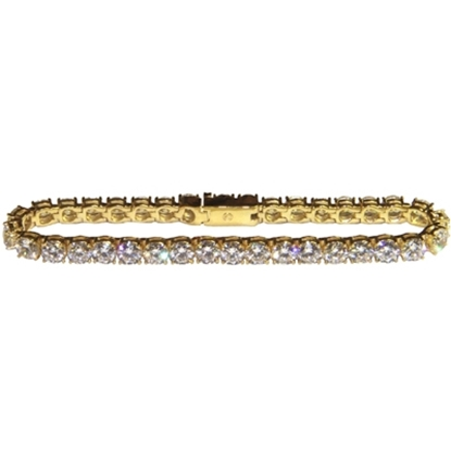 Picture of Nadri Classic Gold Tennis Bracelet