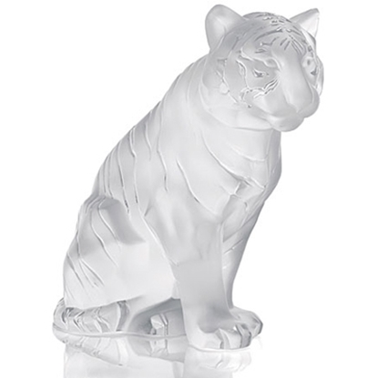 Picture of Lalique Small Sitting Tiger
