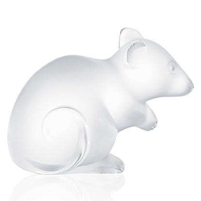 Picture of Lalique Mouse - Clear