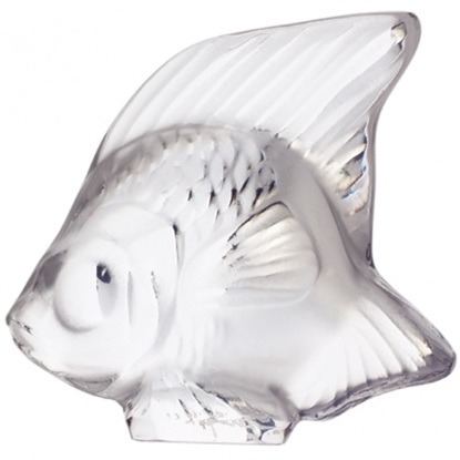 Picture of Lalique Fish Figurine - Clear