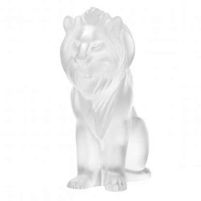 Picture of Lalique Bamara Lion - Clear